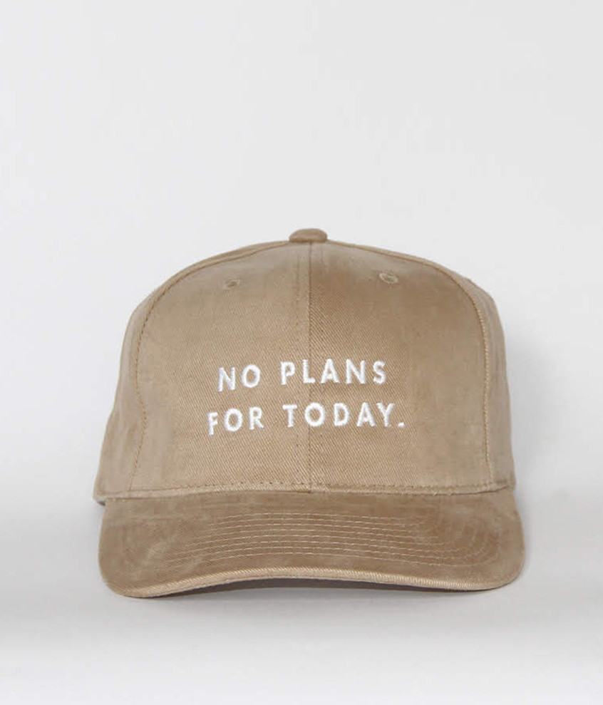 "Gorra ""No plans for today""..."