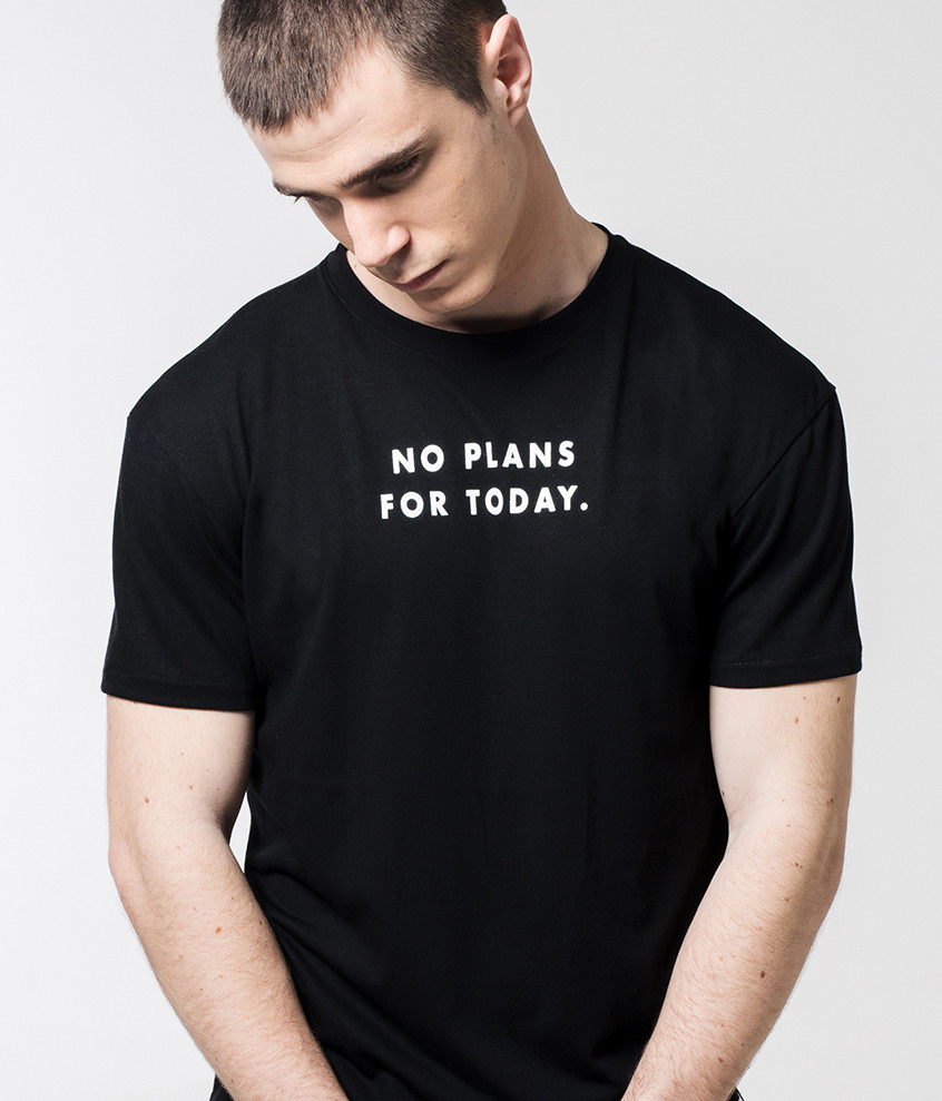 "Camiseta ""No plans for..."