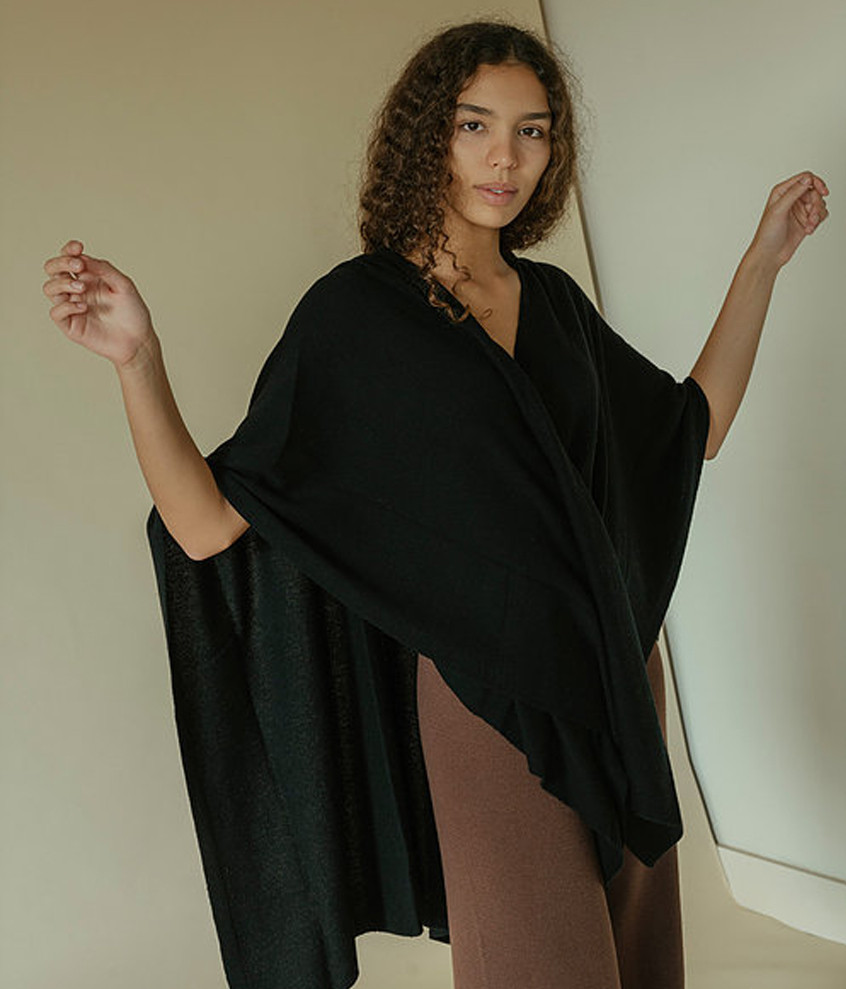 Cape in Black