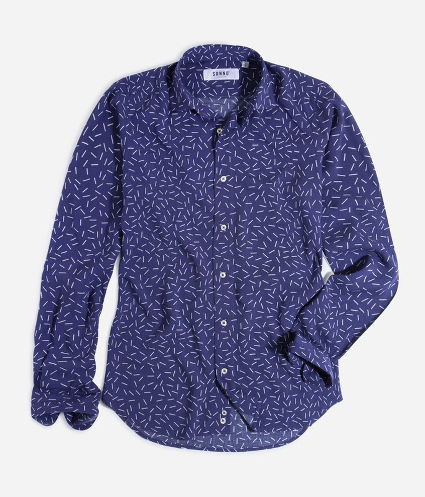 Karldom Navy Tailored Shirt